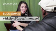 BLICK:WINKEL Aktion BürgerInnenasyl versteckt Menschen vor Abschiebungen