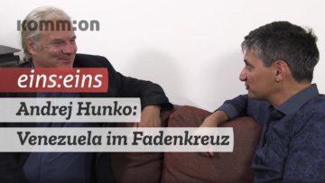 EINS:EINS mit Andrej Hunko: Venezuela im Fadenkreuz!