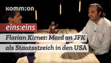 EINS:EINS mit Florian Kirner: Die Ermordung von JFK als Staatsstreich in den USA.