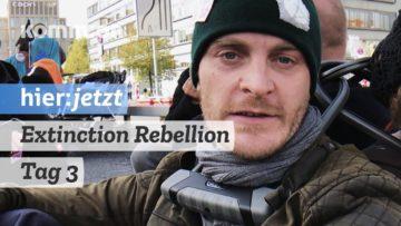 Extinction Rebellion blockiert Berlin: Mittwoch Tag 3