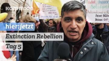 Extinction Rebellion blockiert Berlin – Tag 5