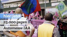 25.000 gegen Automesse IAA, für Verkehrwende und Klimaschutz