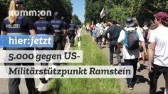 5.000 gegen US-Militärstützpunkt Ramstein Air Base
