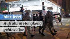 Aufruhr in Hongkong geht weiter