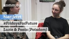 #FridaysForFuture I Interview mit Luzie & Paola (Potsdam)
