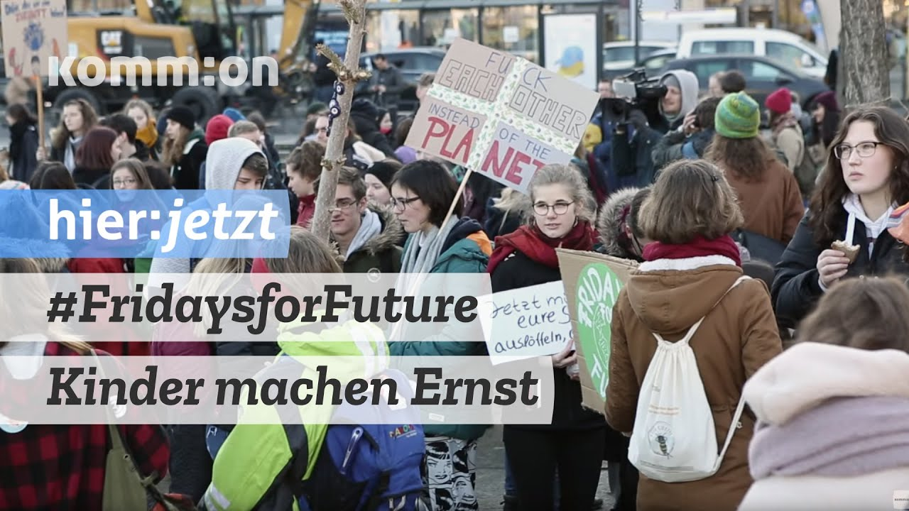 #FridaysforFuture I Kinder machen Ernst / Demo 15.02.2019 Berlin