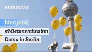 #MIETENWAHNSINN I Demo 06.04.2019 Berlin