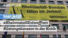 #RheinmetallEntwaffnen I Rüstungskonzern Rheinmetall in der Kritik