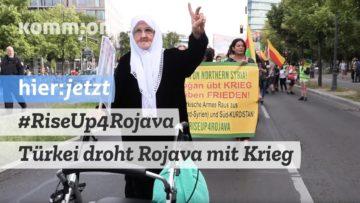 #RiseUp4Rojava I Türkei droht Rojava mit Krieg (Nujivan Günay, Ezidischer Frauenrat)