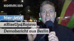 Rojava verteidigen – Demobericht aus Berlin