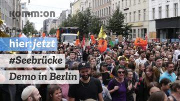 #Seebrücke Demo in Berlin