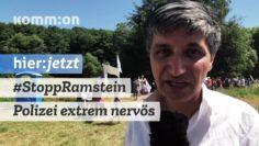 Stopp Ramstein Demo läuft – Polizei extrem nervös!