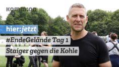 Tag 1 im Ende Gelände Camp: Staiger organisiert den Kohleausstieg?