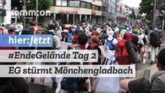 Tag 2 – Ende Gelände stürmt Mönchengladbach. Aktionsbericht aus #RoterFinger (gekesselt)