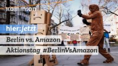 #BerlinVsAmazon Aktionstag 21.12.2019