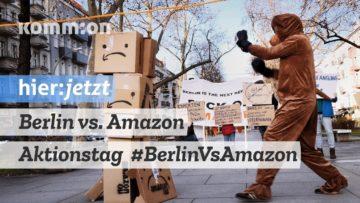 #BerlinVsAmazon Aktionstag 21.12.2019