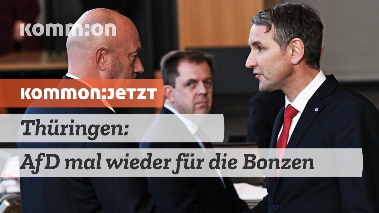 KOMMON:JETZT Thüringen: AfD mal wieder für die Bonzen!