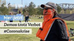 Demos trotz Verbot – für Demokratie und Solidarität auch in der Coronakrise