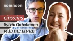 EINS:EINS Sylvia Gabelmann MdB Die Linke #Corona