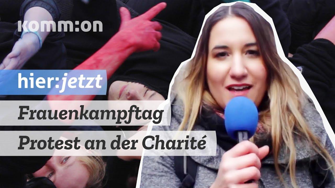Frauenkampftag – Protest an der Charité