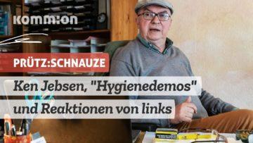 Kommentar zu Ken Jebsen, Hygienedemos und Reaktionen von links