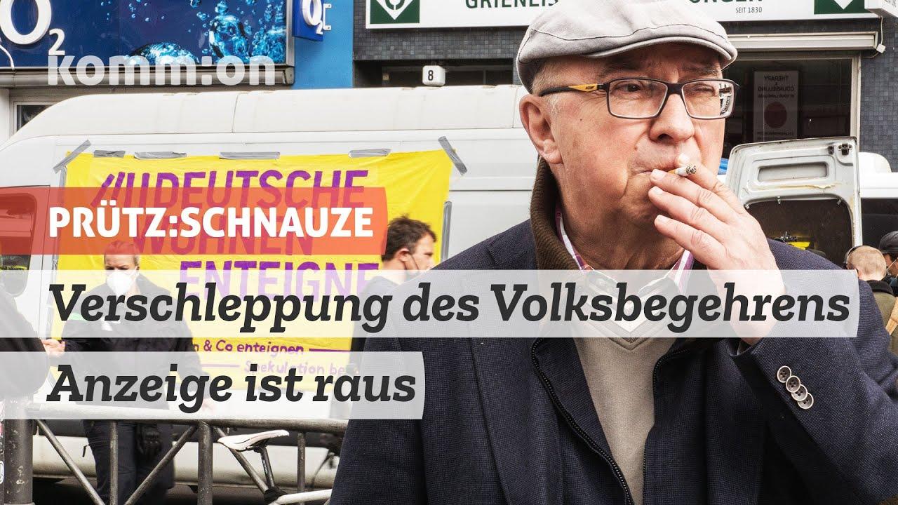 PRÜTZ:SCHNAUZE Verschleppung des Volksbegehrens – Anzeige ist raus