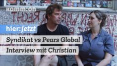Syndikat vs Pears Global – Interview mit Christian