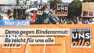 Demo gegen Kinderarmut: Es reicht für uns Alle!