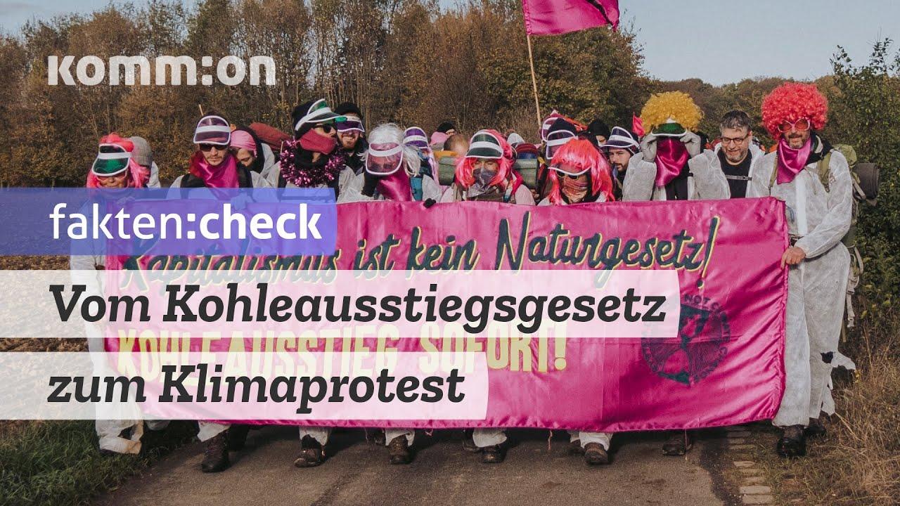 fakten:check – Vom Kohleausstiegsgesetz zum Klimaprotest