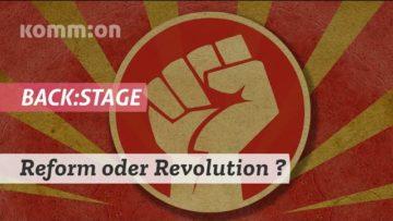 Reform oder Revolution? back:stage mit Marcus Staiger, Bafta Sarbo & Pedram Shahyar