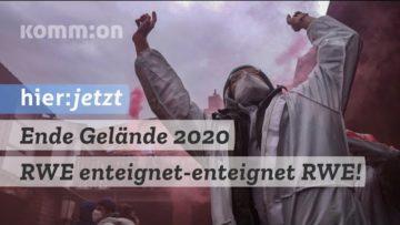 Ende Gelände 2020 – RWE enteignet – enteignet RWE!