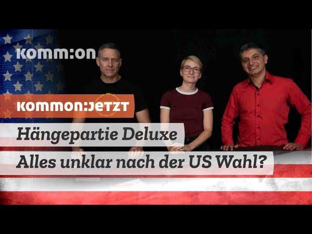 Hängepartie Deluxe – alles unklar nach der US-Wahl