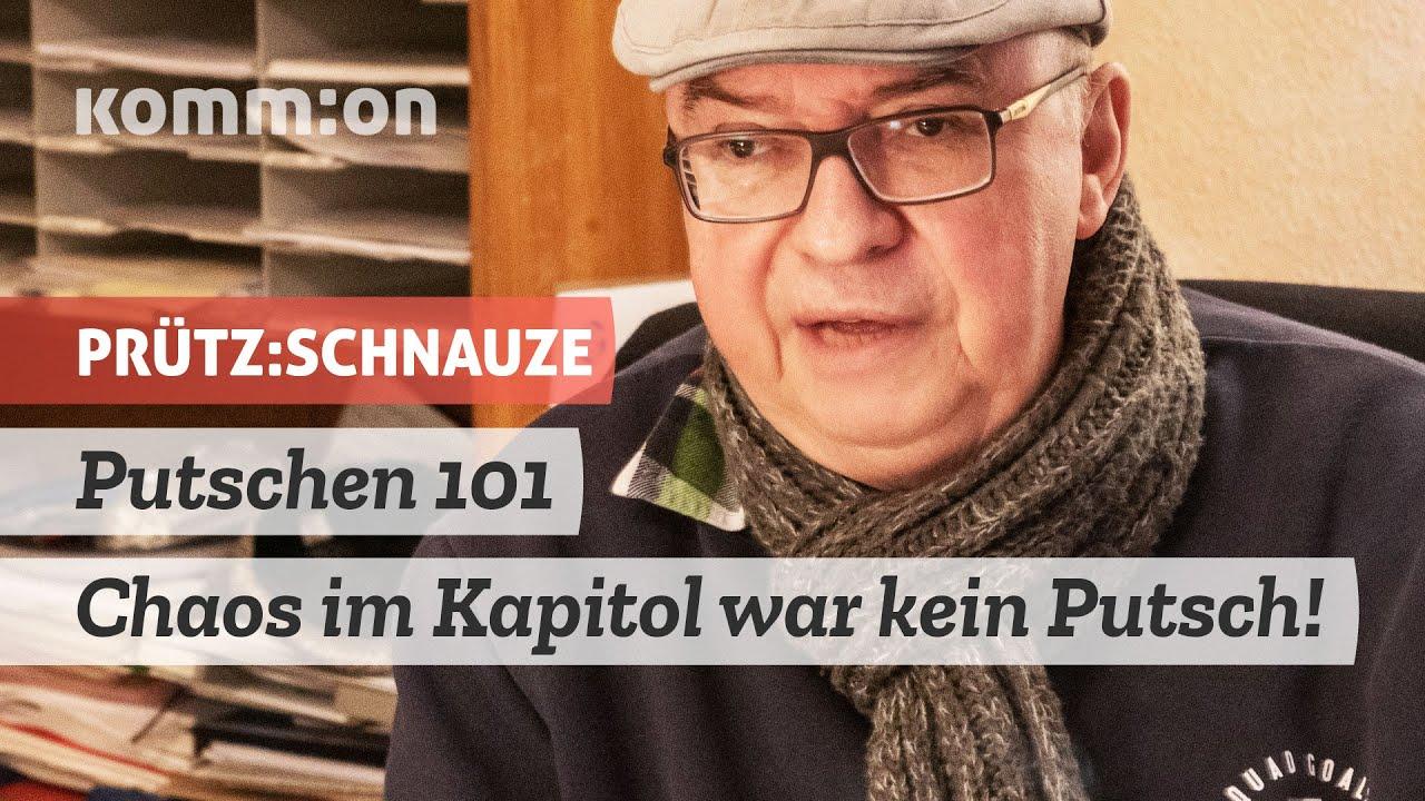 Putschen 101 – Chaos im Kapitol war kein Putsch!
