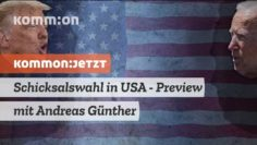 Schicksalswahl in USA – Preview mit Andreas Günther (New York)