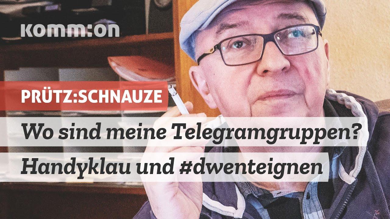 Wo sind meine Telegramgruppen? Handyklau und #dwenteignen