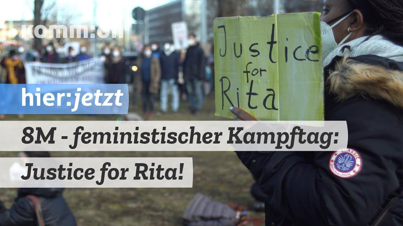 8M – feministischer Kampftag: Justice for Rita!