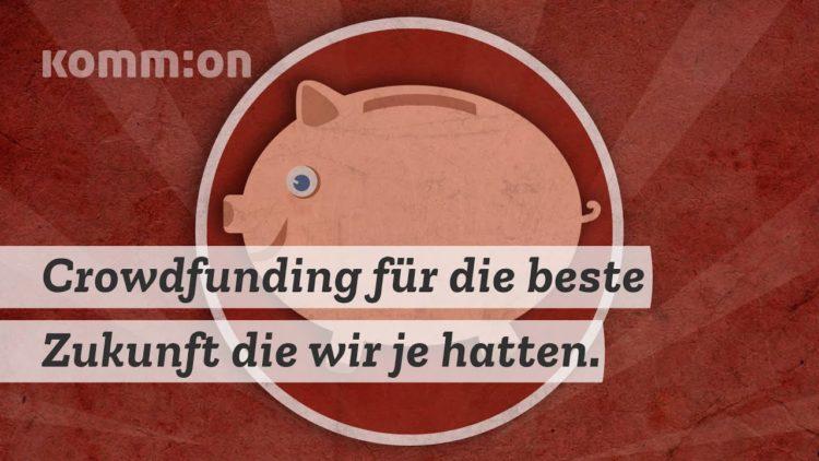 Crowdfunding für die beste Zukunft, die wir je hatten.