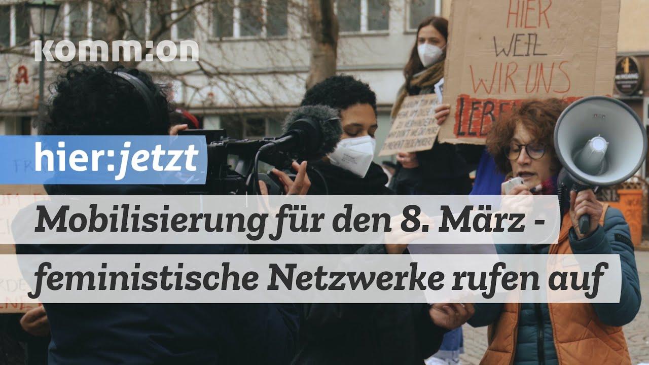 Mobilisierung für den 8. März – feministische Netzwerke rufen auf